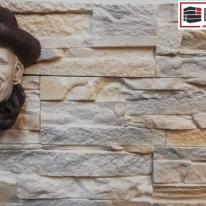 Гипсовый декоративный камень Эльбрус