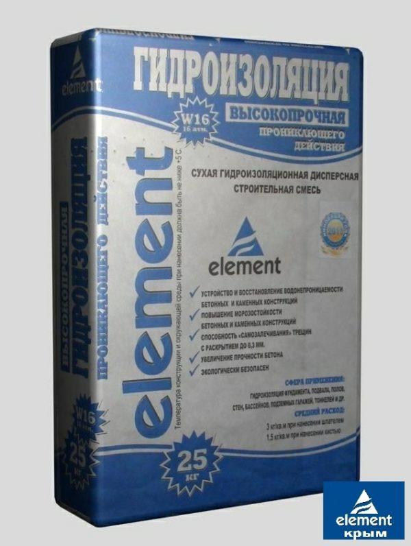 Гидроизоляция проникающего действия ELEMENT W-16